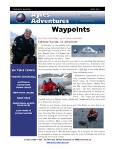 Waypoints April 2013