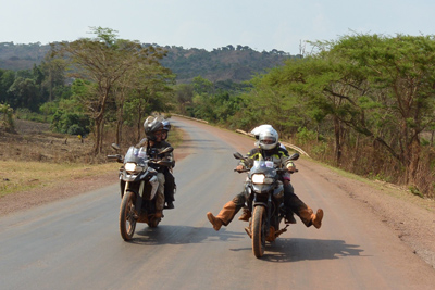Into Africa Motorcycle Tour in Africa, Day 16