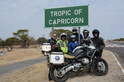 Into Africa Motorcycle Tour in Africa, Day 7