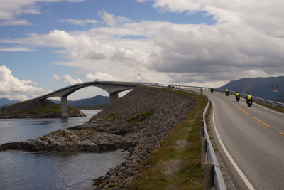 Norwegian Midnight Sun, Motorcycle Tour in Norway, Day 4