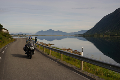 Norwegian Midnight Sun, Motorcycle Tour in Norway, Day 8