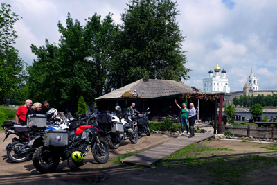 Russia Beyond the Golden Ring, Motorcycle Tour in Russia, Day 3