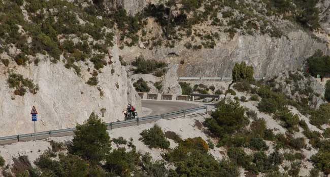Riding the mountains in Andalusia