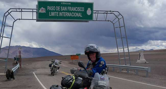 Argentina and Chile Border