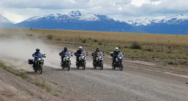 Bariloche to Ushuaia - 5 riders arriving in Patagonia