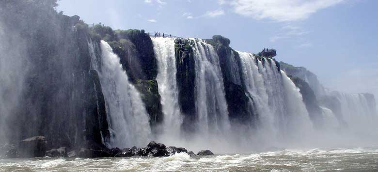 Catwalks over Iguassu