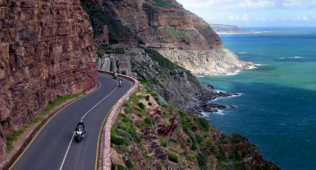 Chapmans Peak Drive - The Cape Peninsual - South Africa