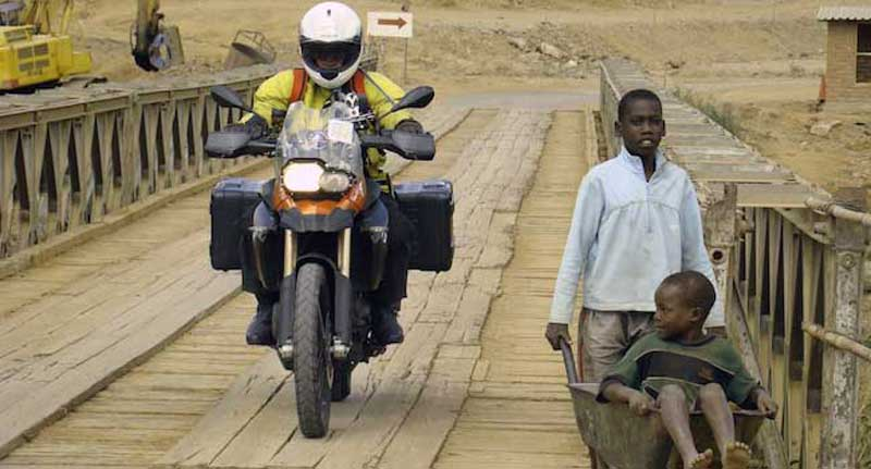 Bridge Crossing - Into Africa Adventure