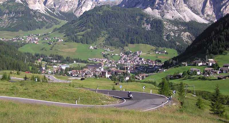 Corvara - in the Italian Dolomites