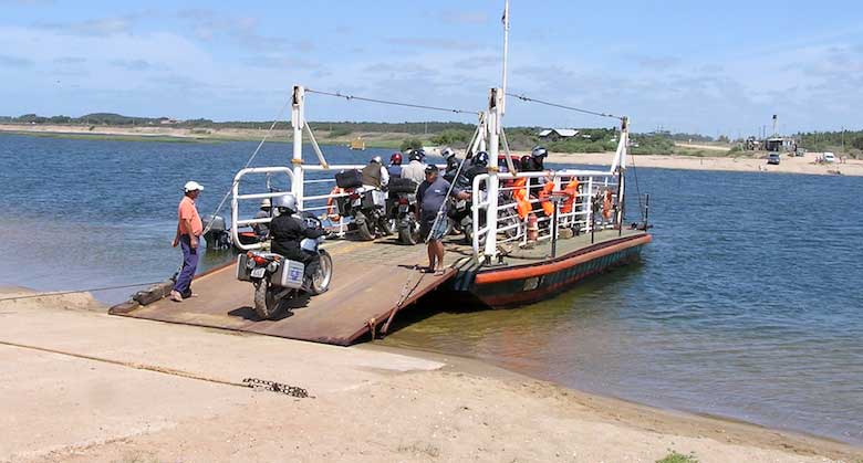 Ferry Crossing in Uruguay