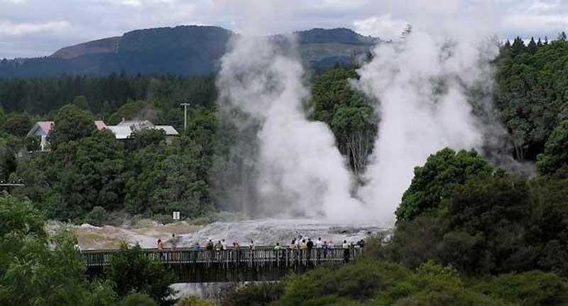 The Geysers at Rotorua