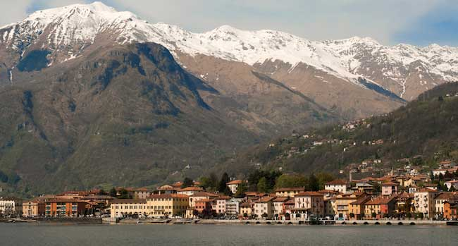 Gravedona, on Lake Como, Italy