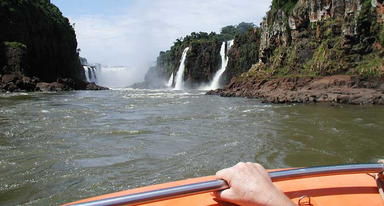 Iguassu - View from the Boat