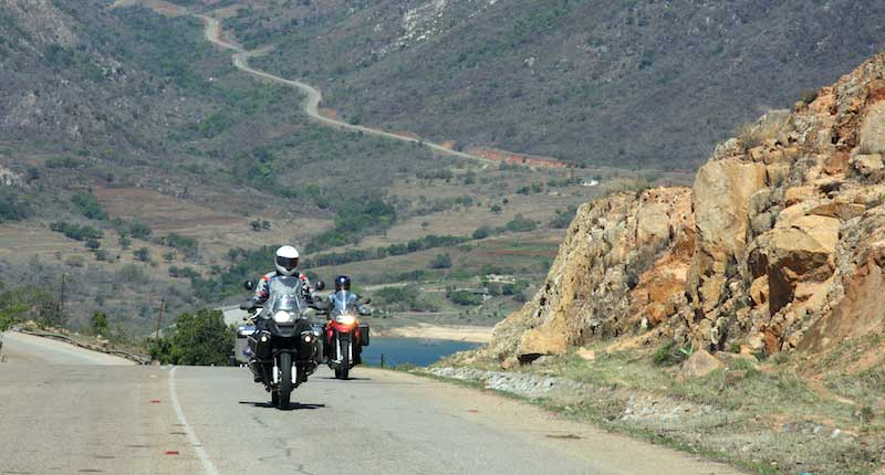 Hill Climbing in Kwa-Zulu Natal Province - South Africa