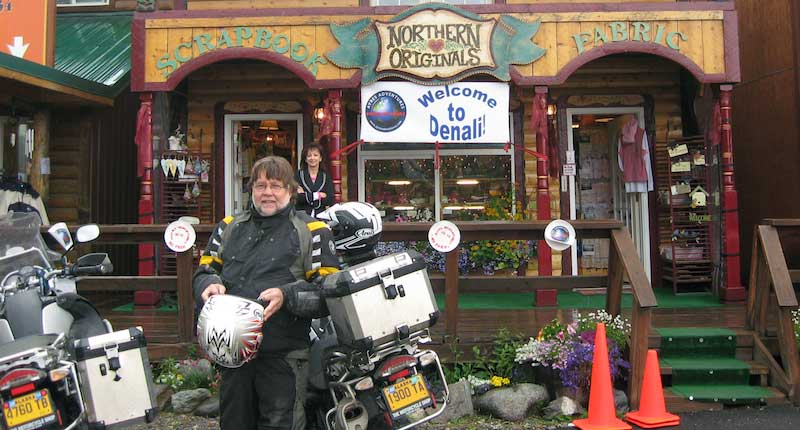 Warm Welcome to Denali for Ayres Adventures