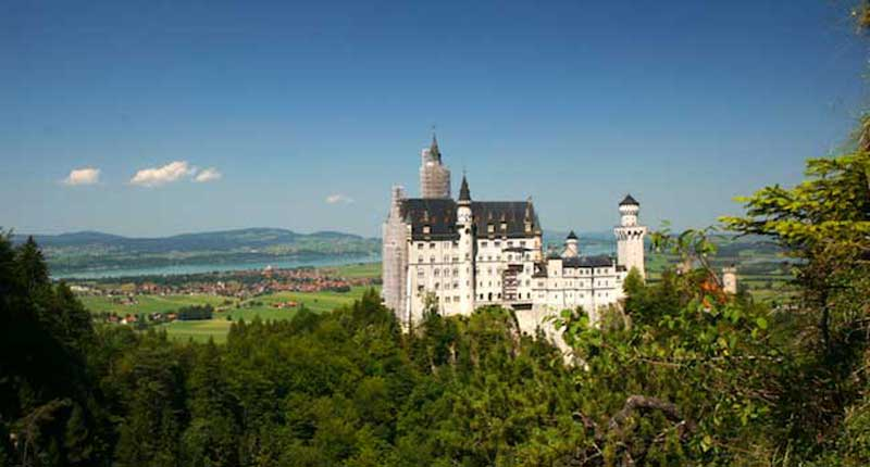 Neuschwanstein Castle, near Munich, Germany