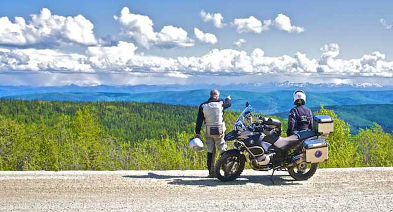 Pausing on the Top of the World Highway - The Yukon