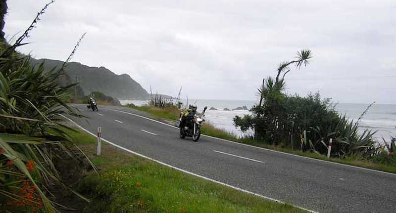 Riding The South Island's West Coast