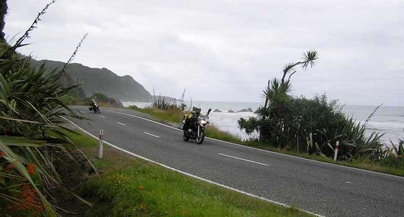 Riding The South Island's West Coast