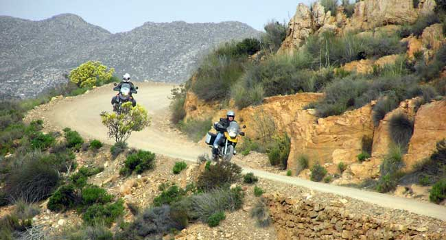 Descending the Swartberg Pass