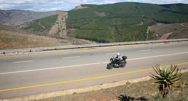 Riding the Swazi Mountains