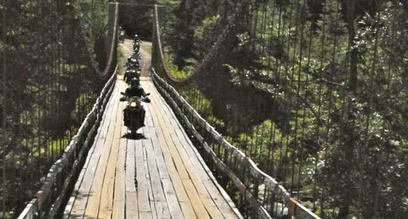 Suspension Bridge - Taste of Chile Adventure
