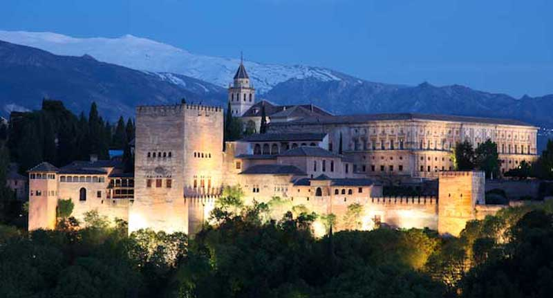 The Alhambra - Granada, Spain