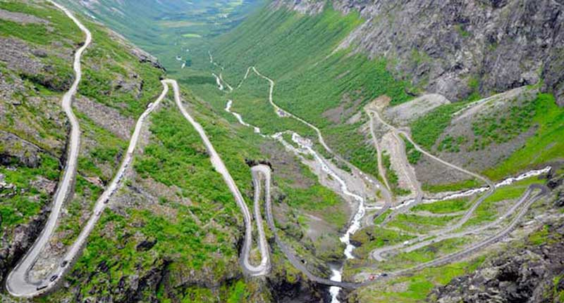 Trollstigen pass  road - Norway