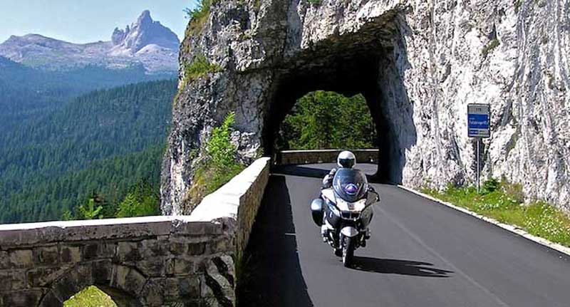 Tunneling through the Swiss Alps