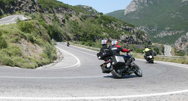 Riding the Twisties in Greece