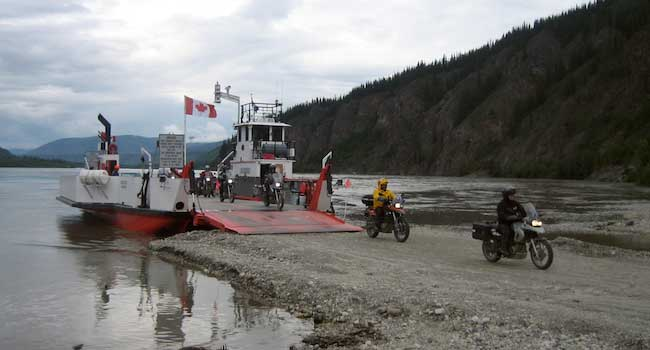 Yukon River Ferry