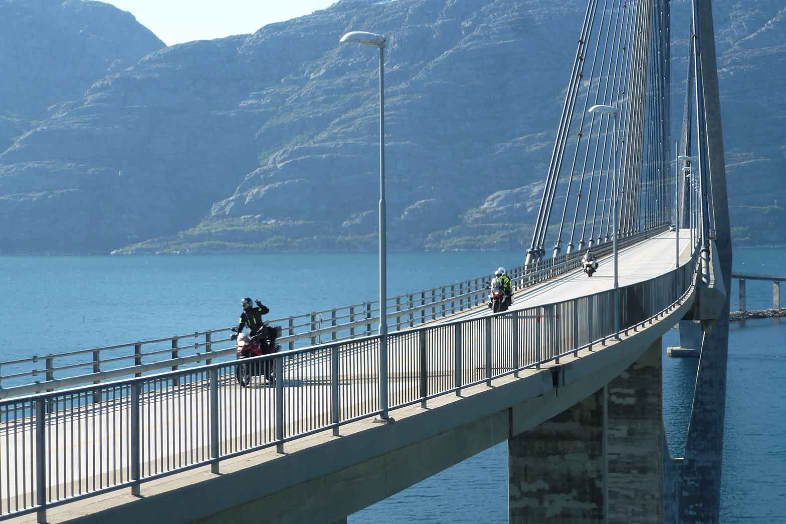 Bridge near Sandnessjoen, Norway