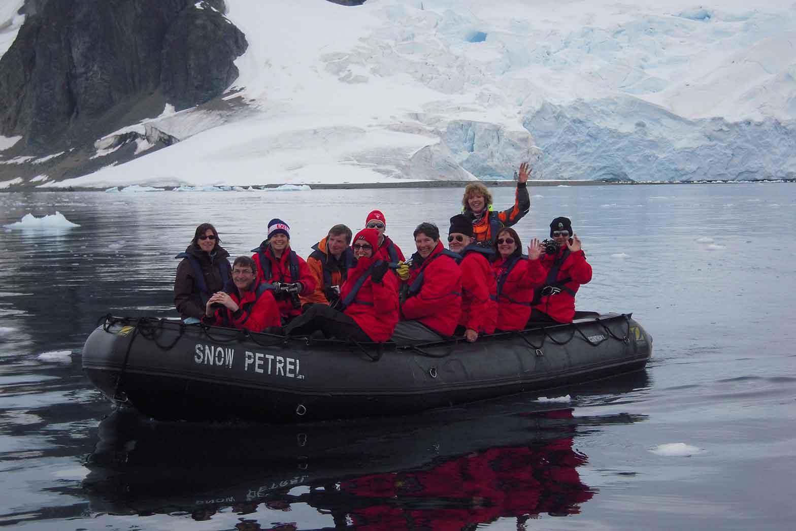 Aboard Snow Petral