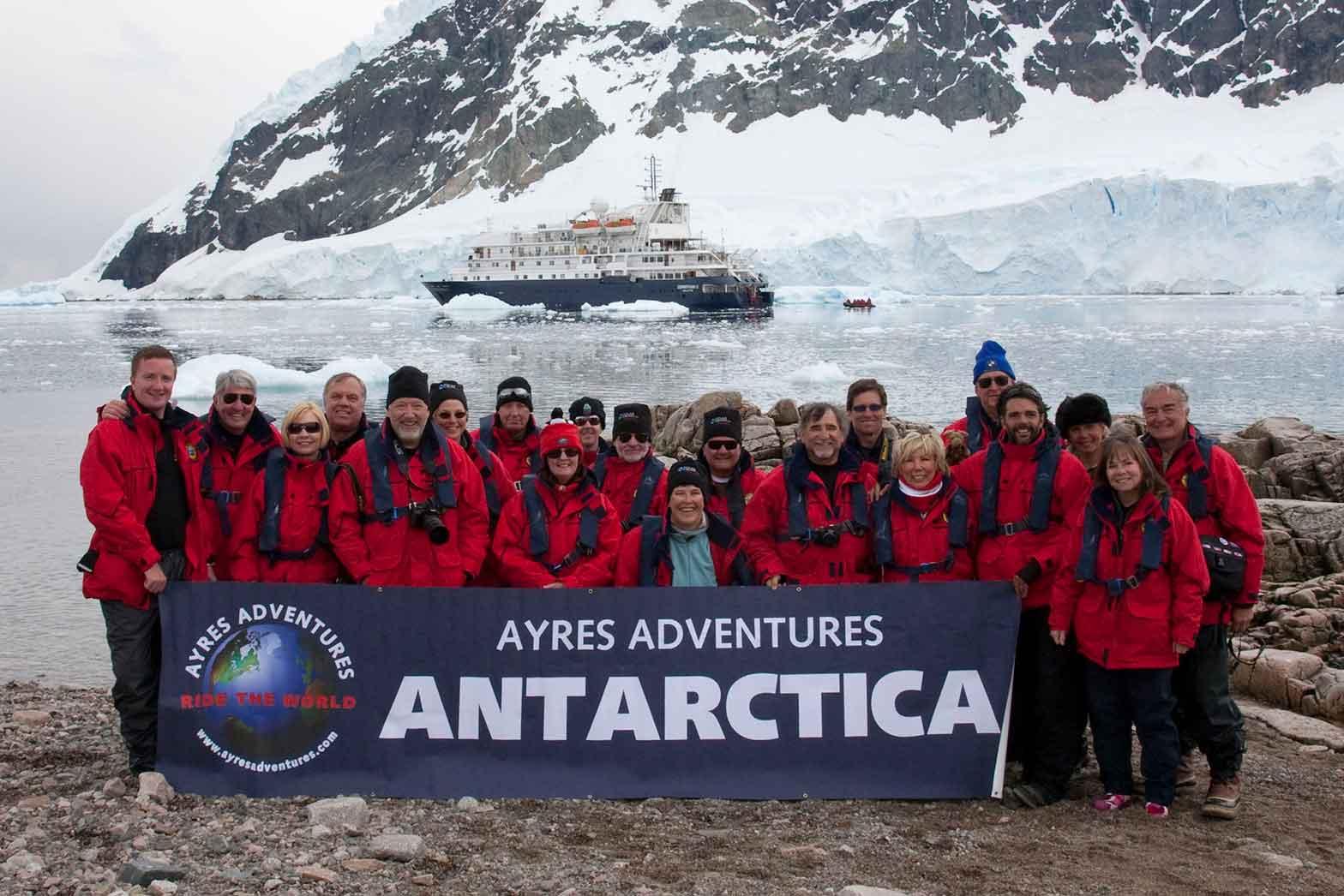 Ayres Antarctic Adventures 2009, Antarctica Adventure