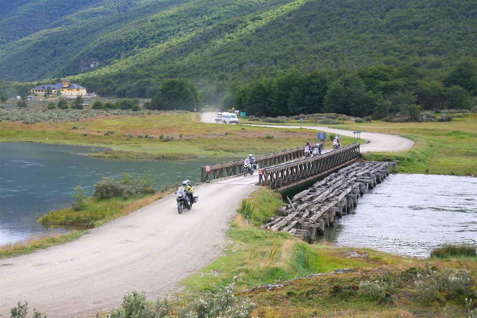 Riding in Tierra del Fuego National Park