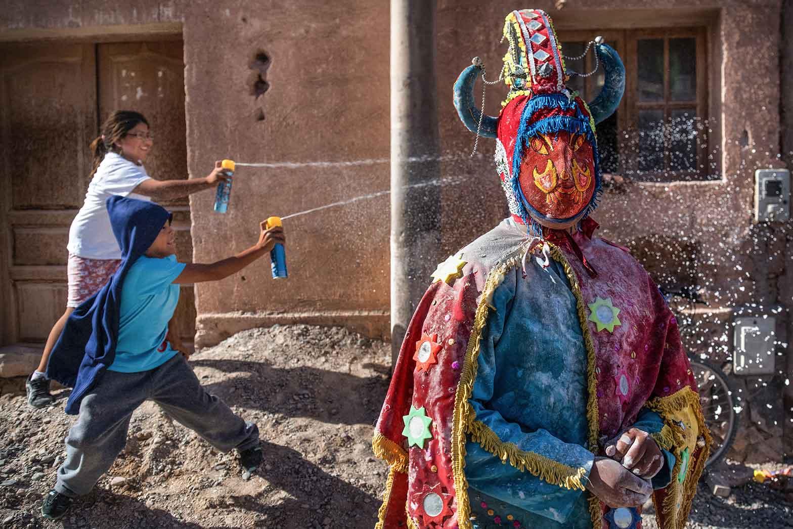 Children playing in Cusco, Peru