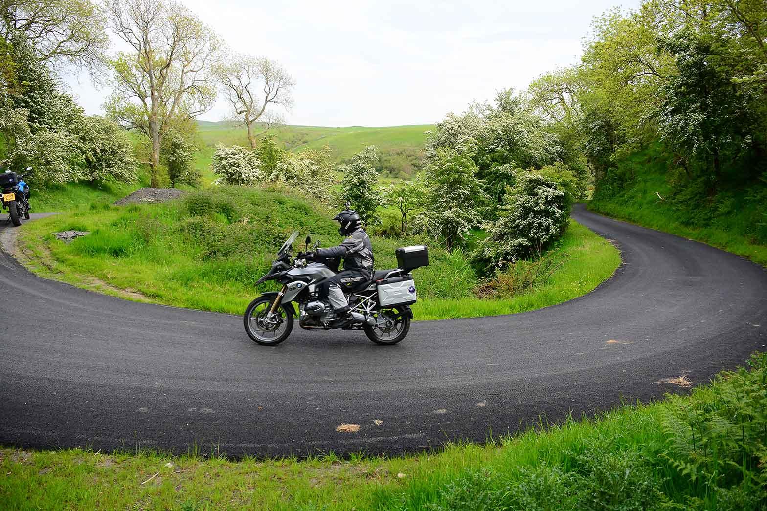 Small twisty back roads