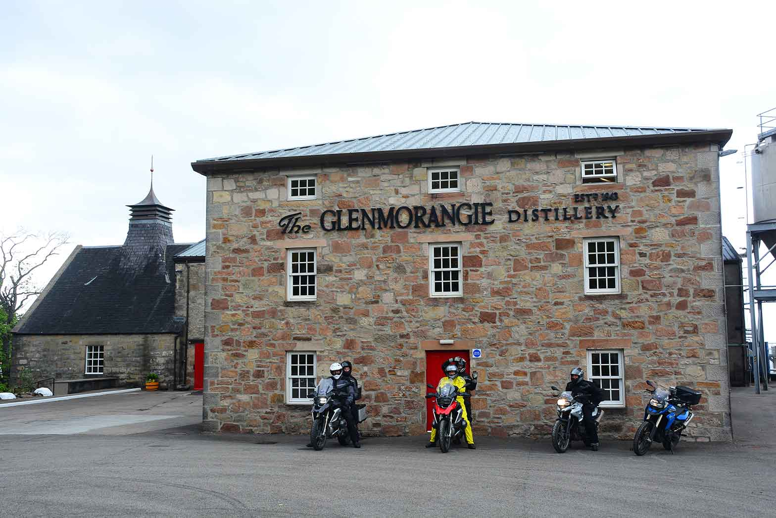 The Glenmorangie whisky distillery, Scotland