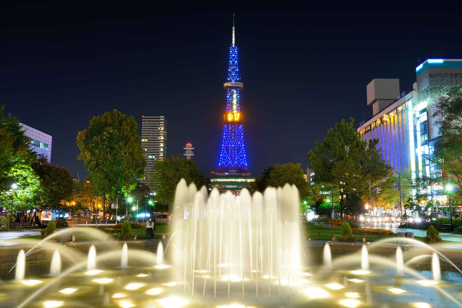Tower at Odori Park in Sapporo