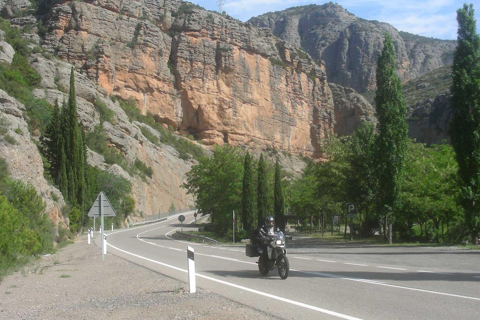Riding El Chorro