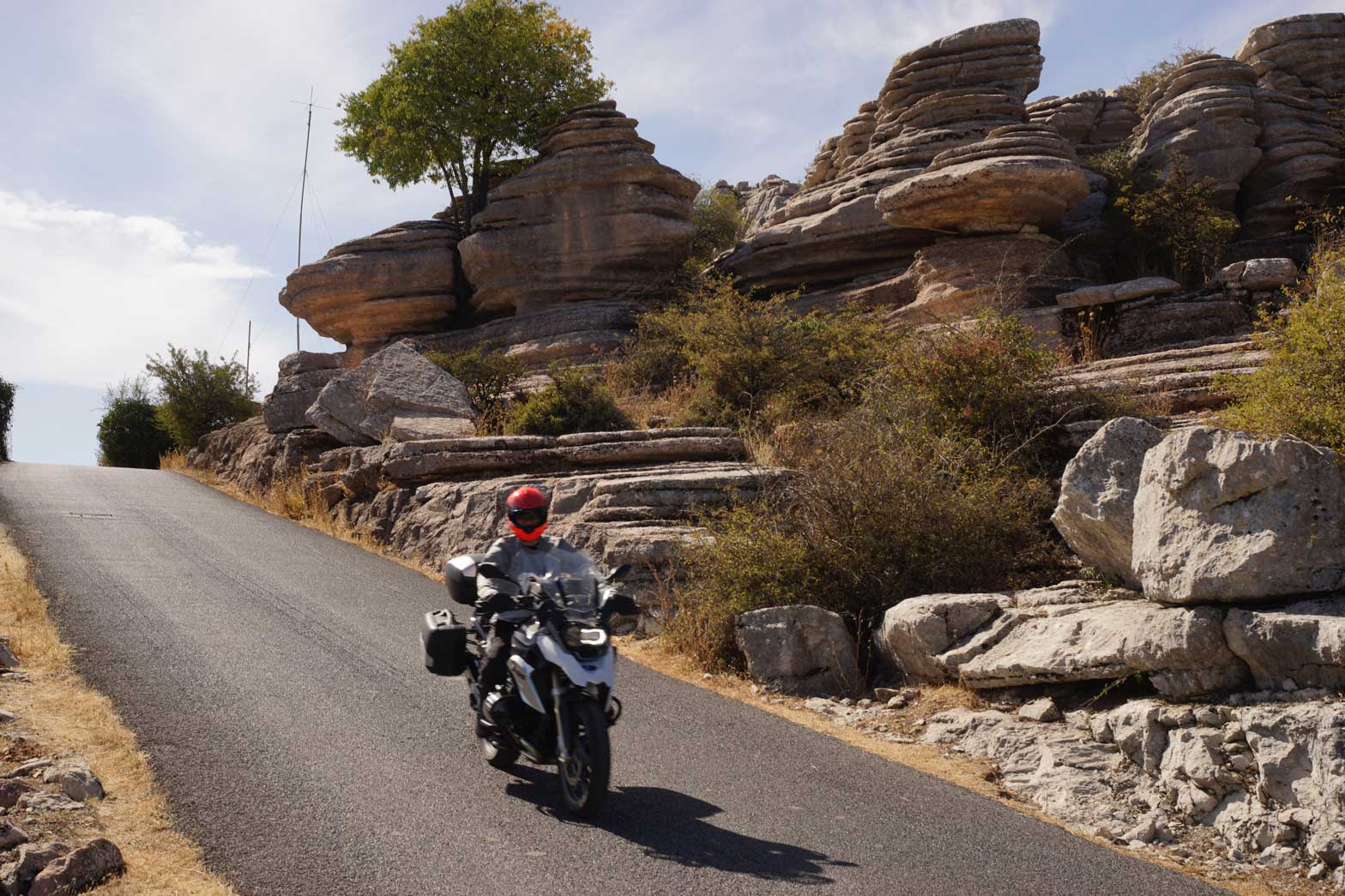 Riding El Torcal