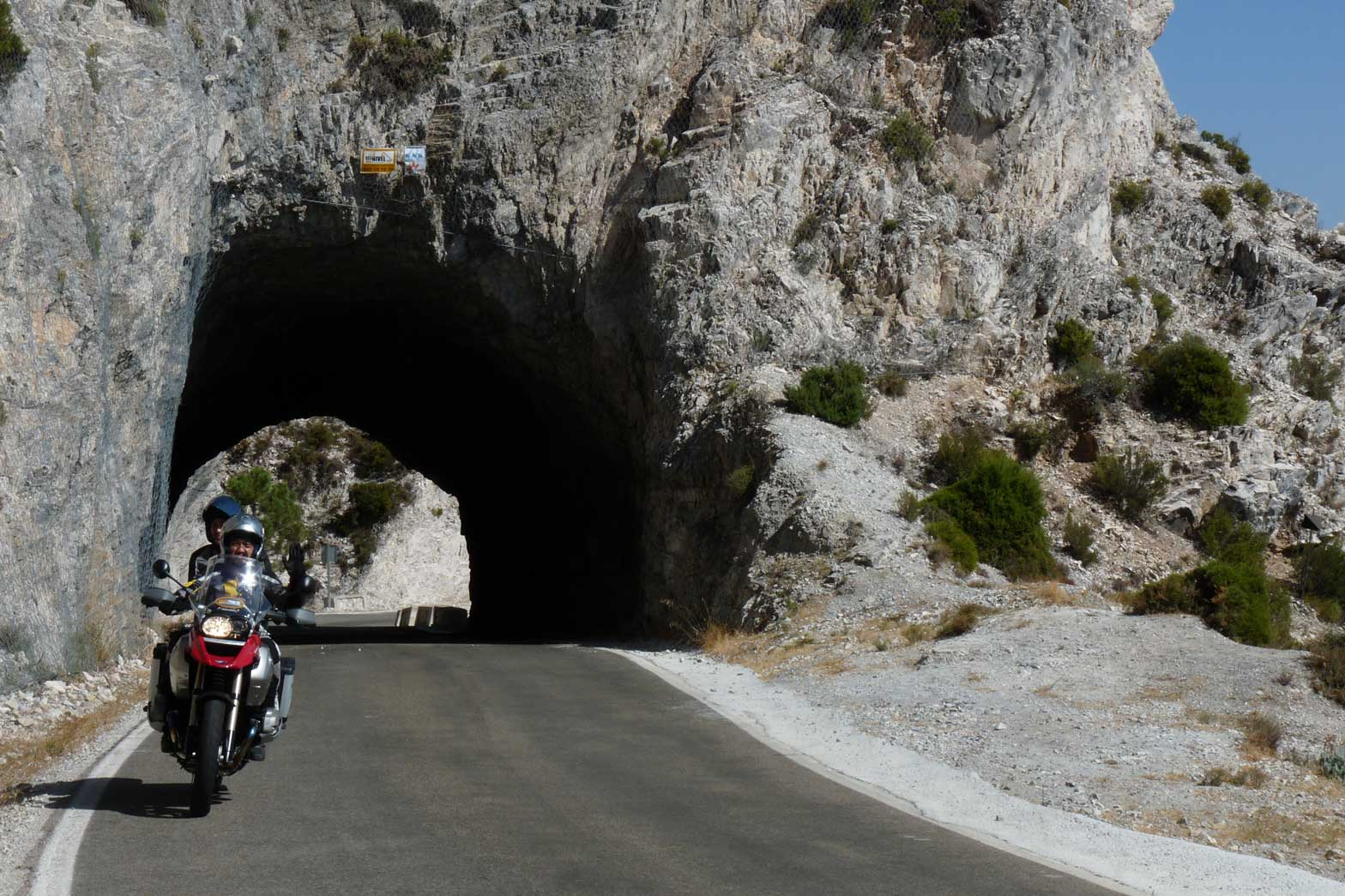 Riding the Andalusian roads