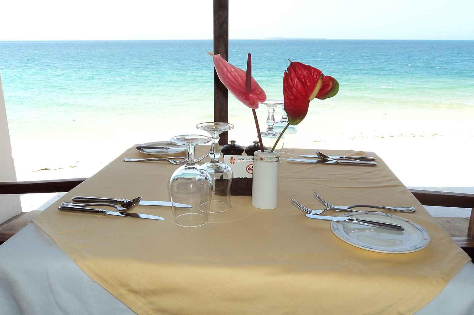 Dining on Zanzibar