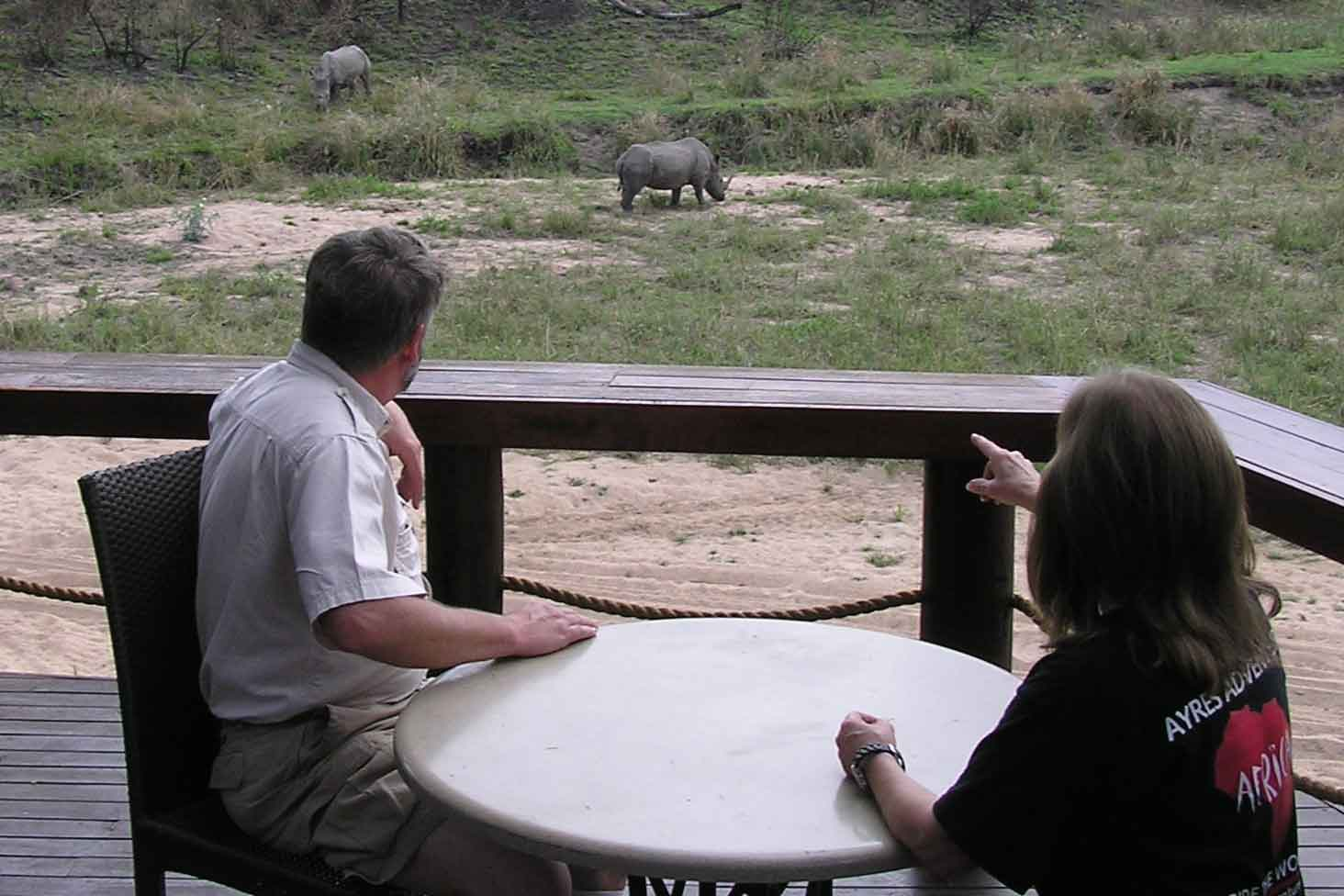 From the balcony of our lodge, Jock Safari Lodge, Kruger National Park