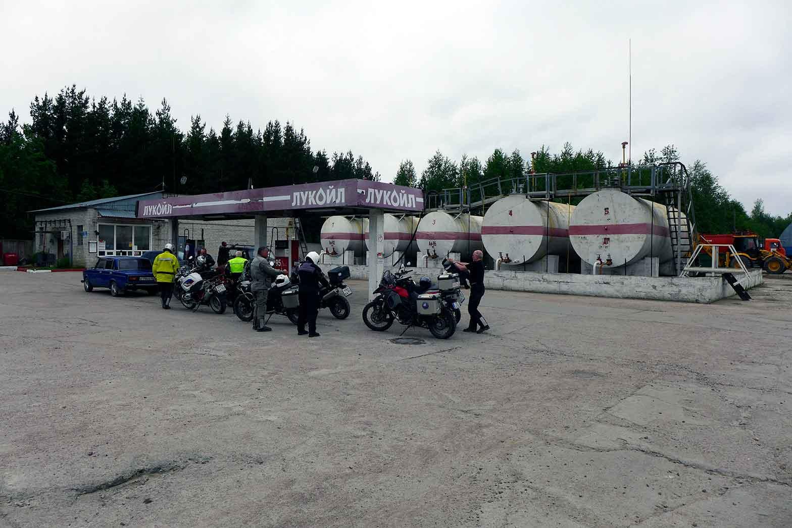 Fueling in Karelia