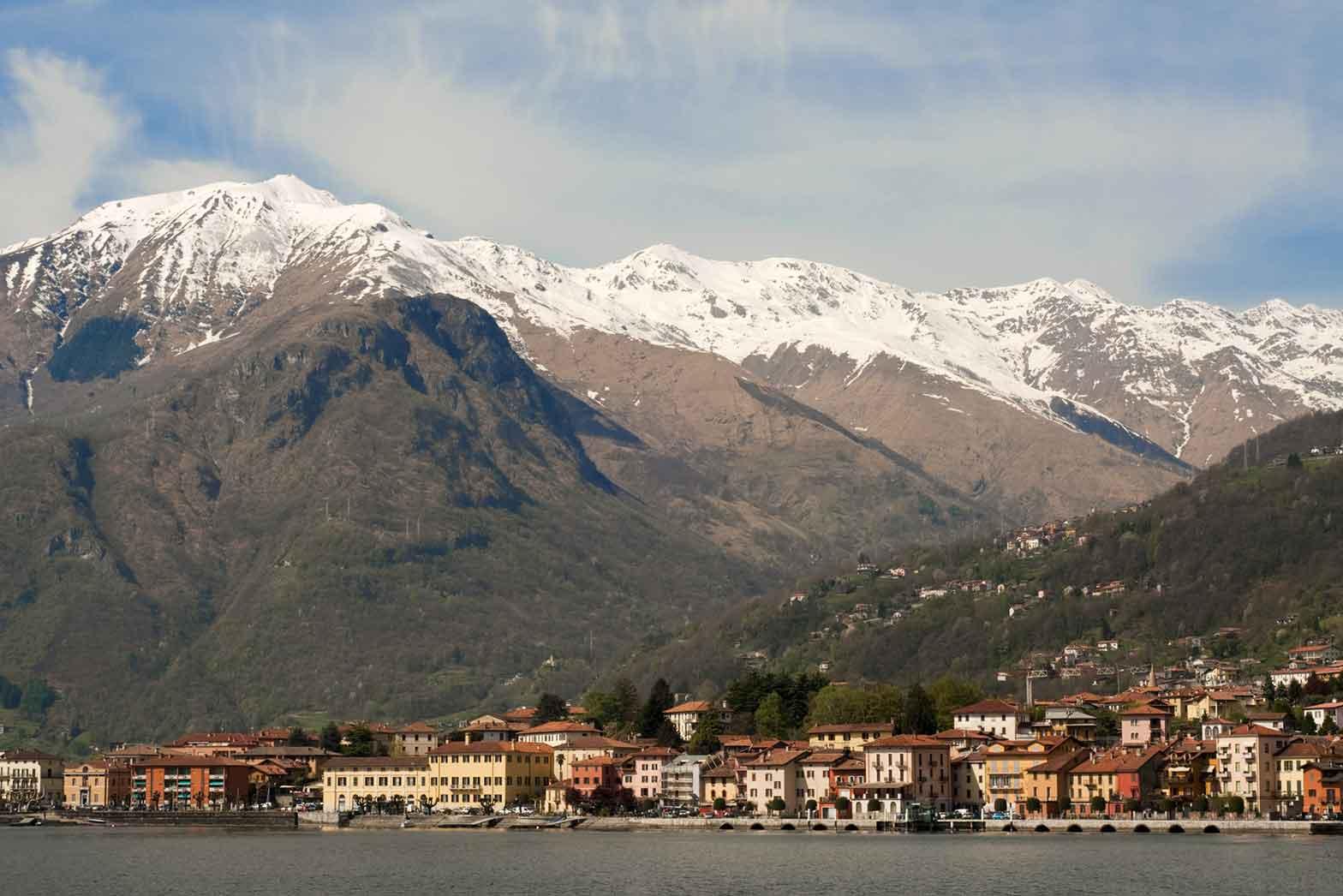 Gravedona, on Lake Como, Italy