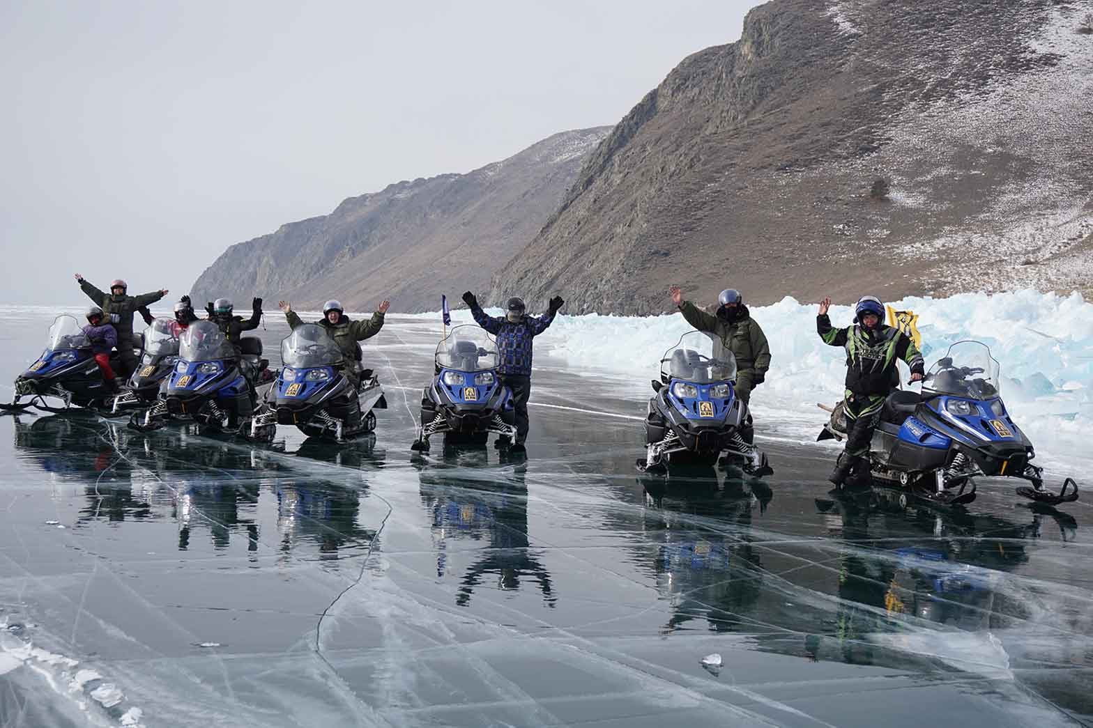 Group on the ice