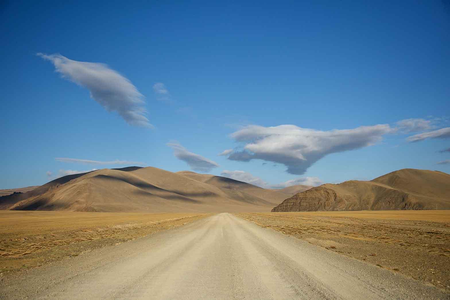 Leaving Mongolia