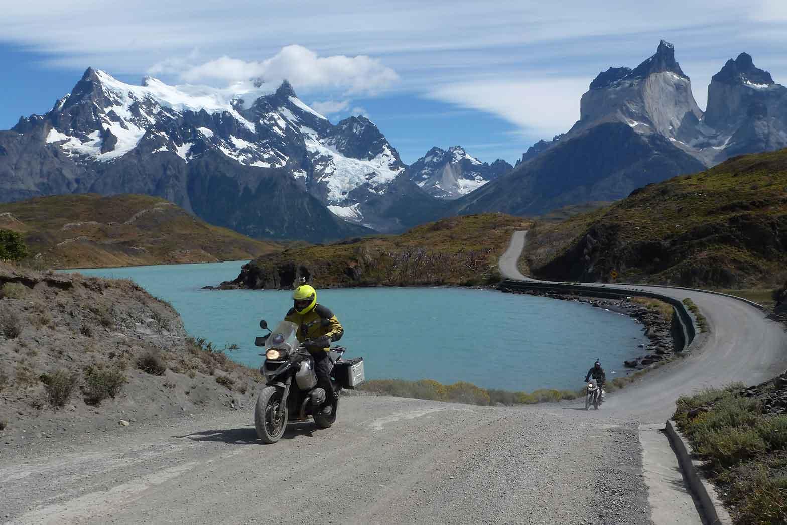 Leaving Torres del Paine