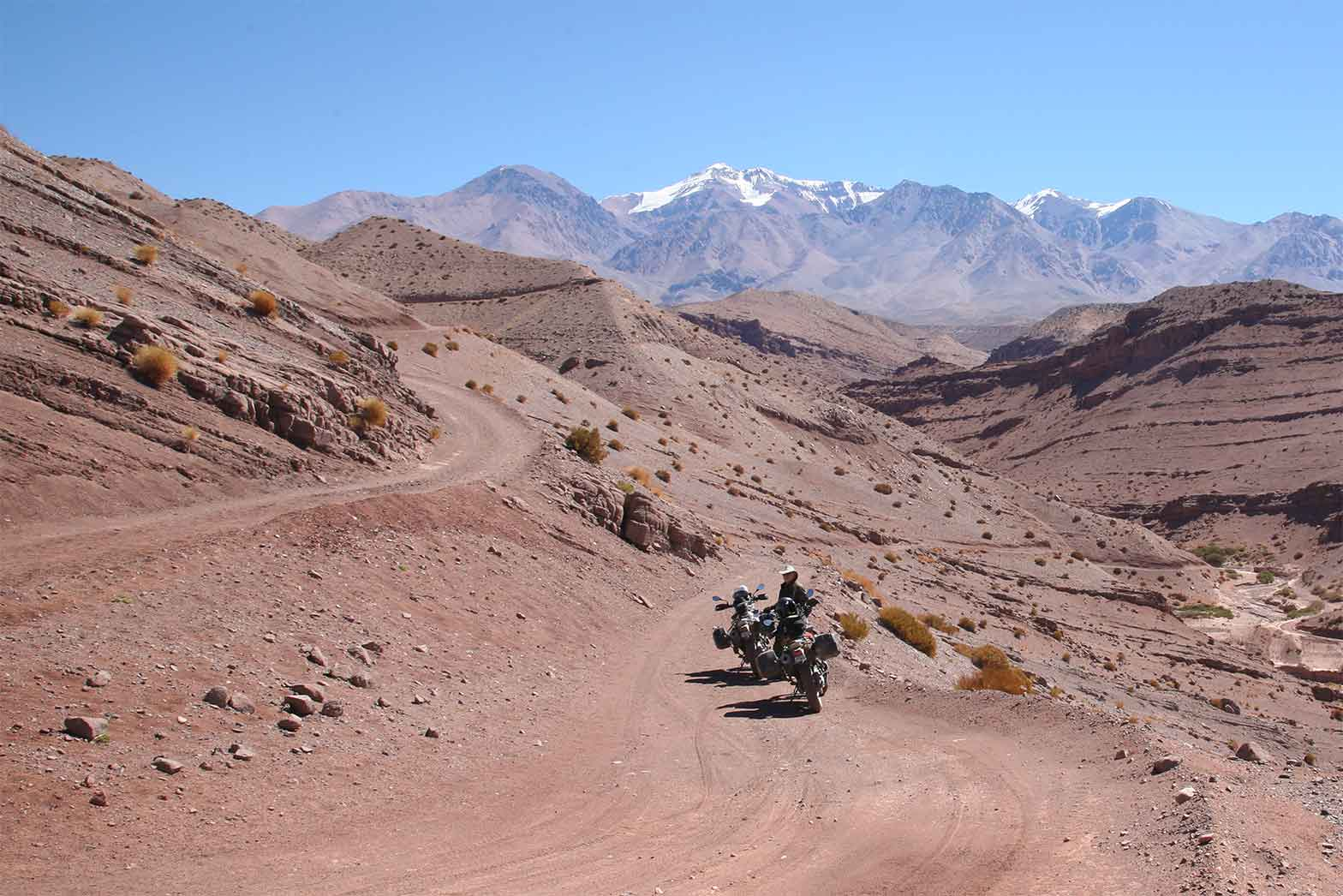Los Andes Misteriosos Motorcycle Tour In South America